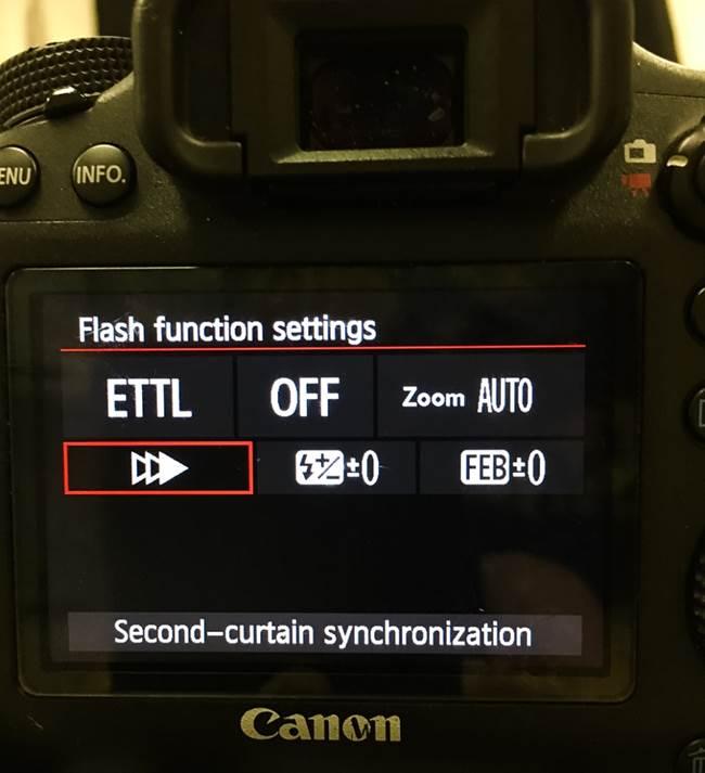 Canon flash
