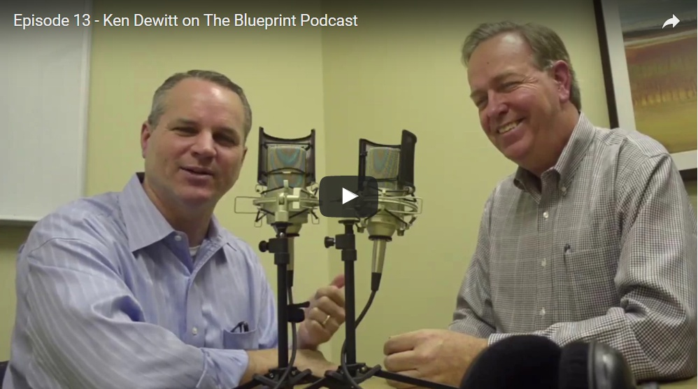 Ken DeWitt, Business Coach & EOS Implementer on the Blueprint Podcast with David Lamb: How Great Businesses Are Built